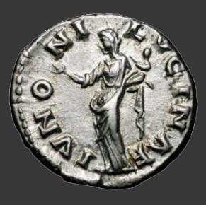 Lucilla Coin Reverse